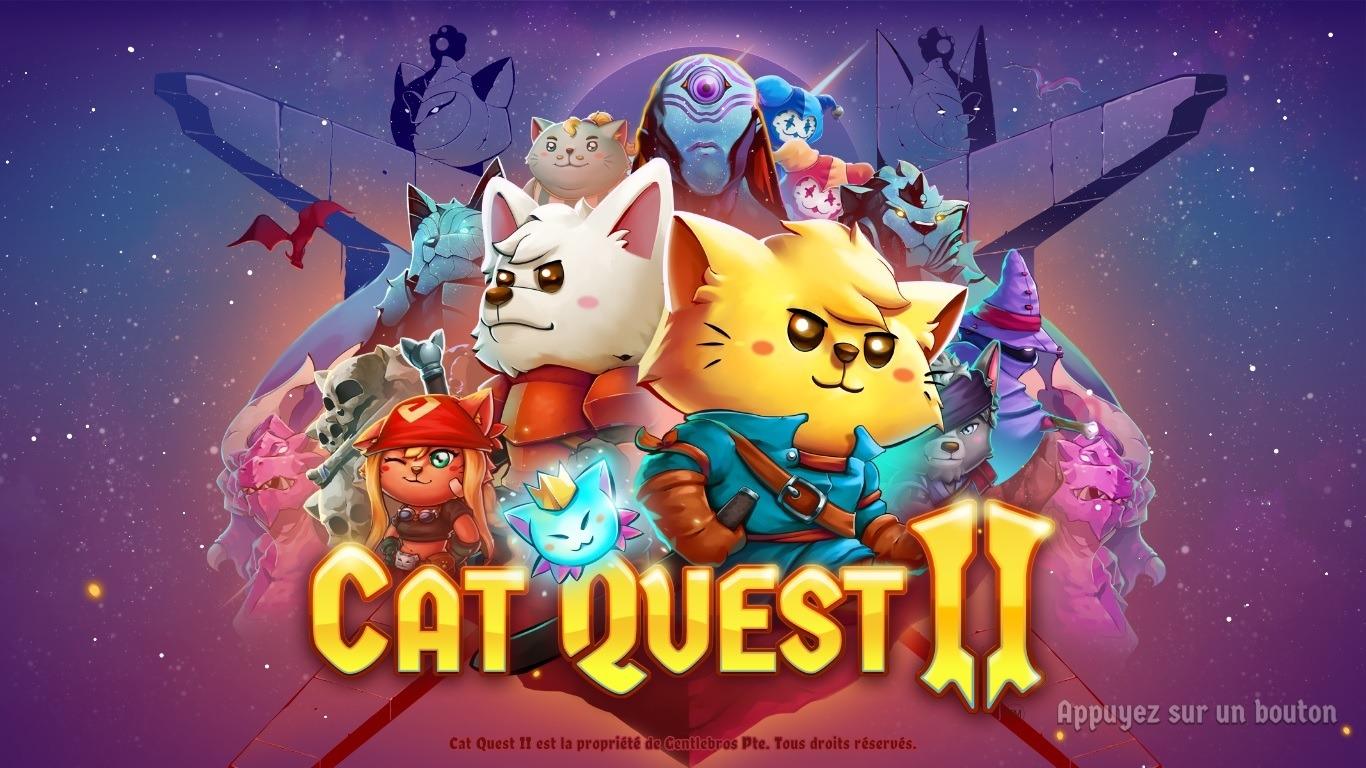 Test Cat Quest 2- Ecran titre