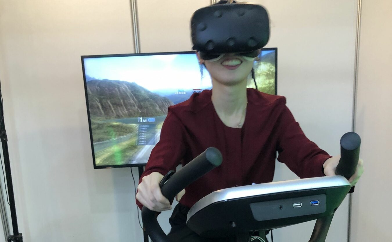 Photo of VR Carver – Le vélo synchronisé Coréen qui collabore entre VR et sport
