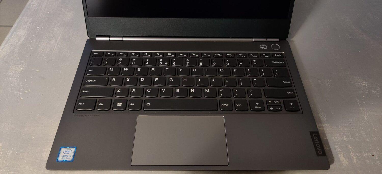 Lenovo Thinkbook13S_vue clavier