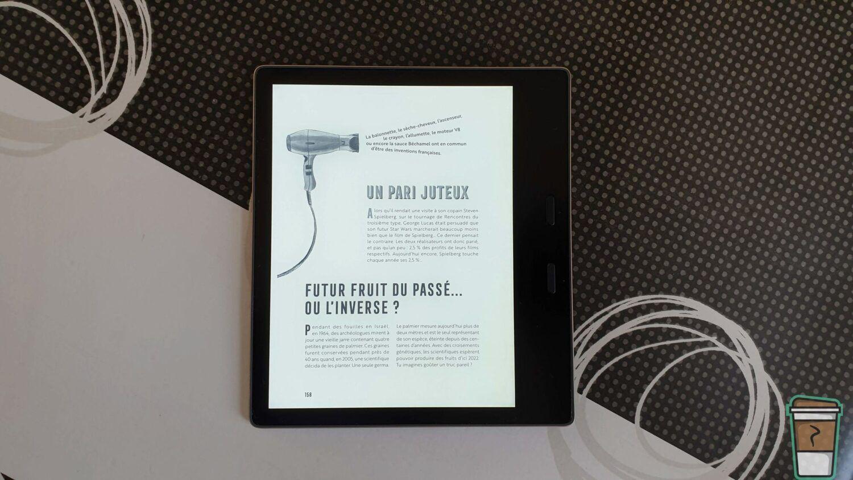 TEST - Kindle Oasis 2019 - Livre de Doc Seven