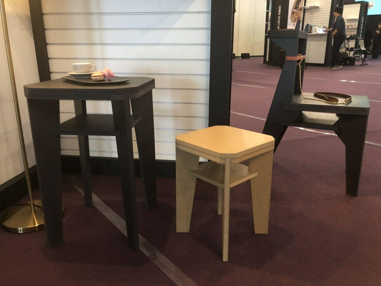 Cuppa-mobilier en bois sans outil