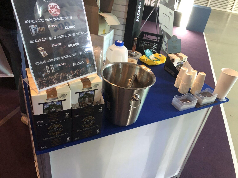 startup café sous pression Azote NitroCoffee n2falls