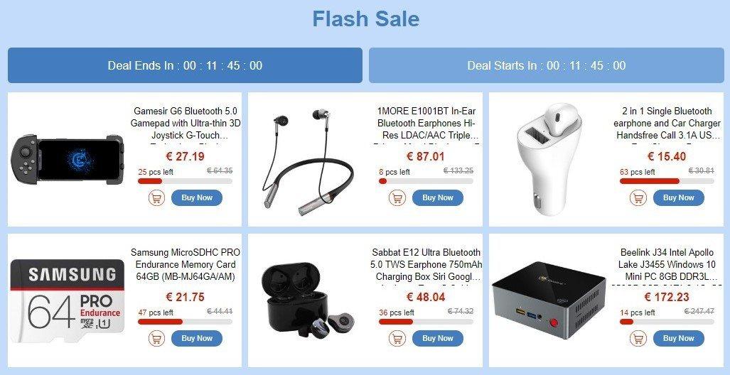 promotions high tech geebuying codes promo soldes ventes flash montres enceinte écouteurs
