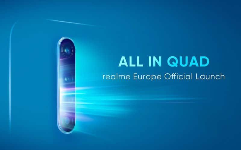 Les quatre capteurs du Realme X2