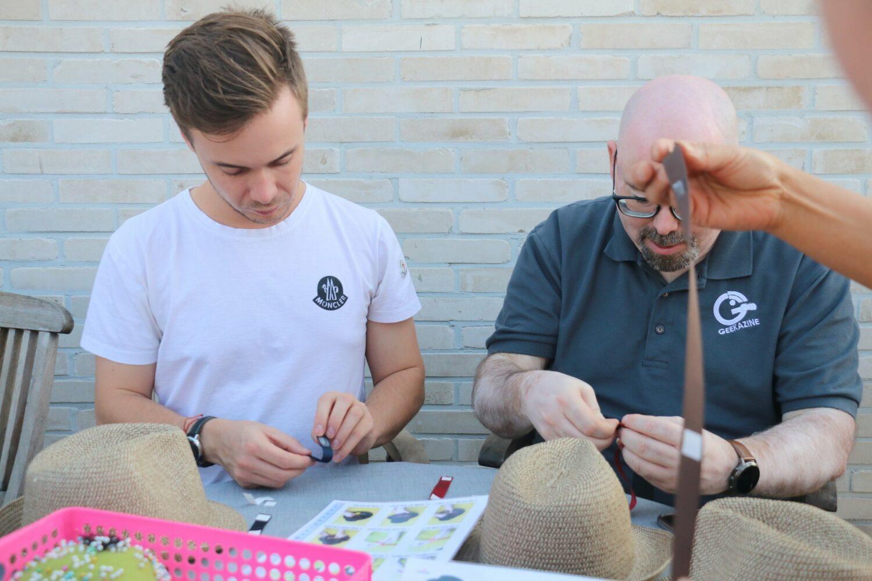 fabrication de chapeau en Corée du sud avec Luielle et Geekazine
