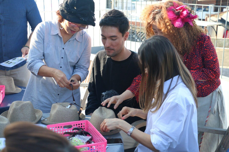 fabrication de chapeau en Corée du sud avec Luielle