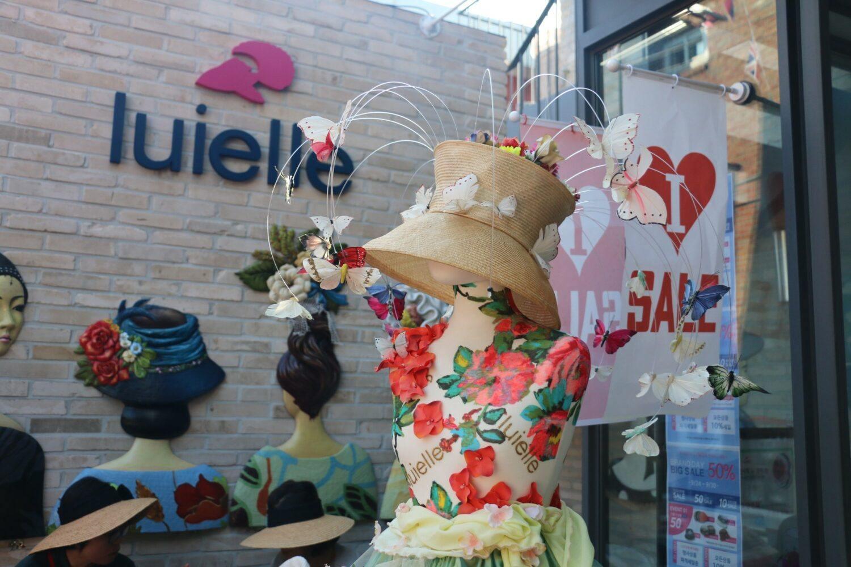 Luielle Corée du sud chapeau