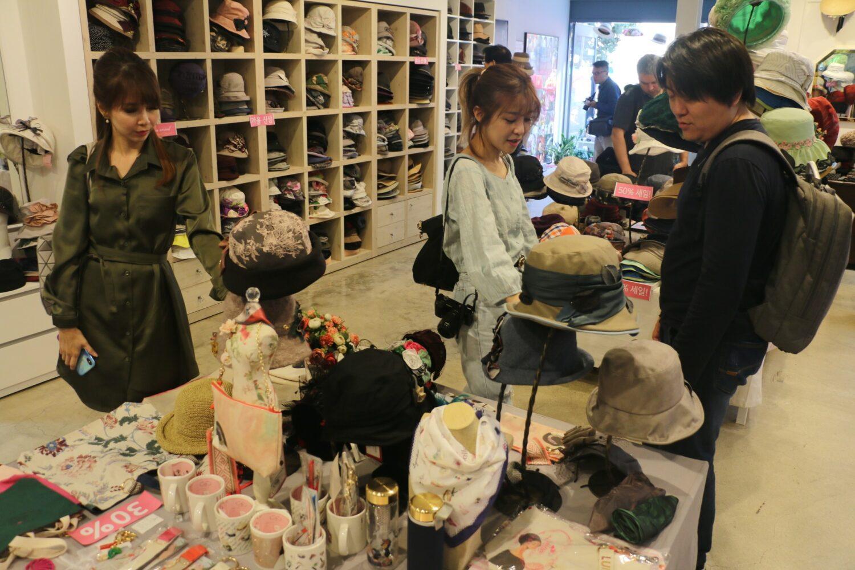 presentation du magasin Luielle a Seoul