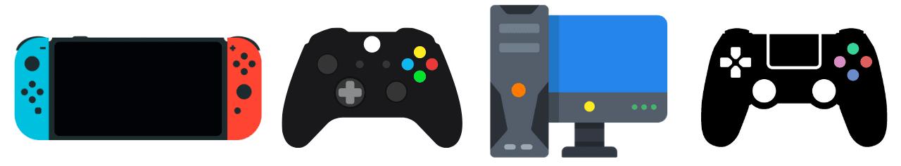 Manettes - Consoles - Sorties jeux vidéo
