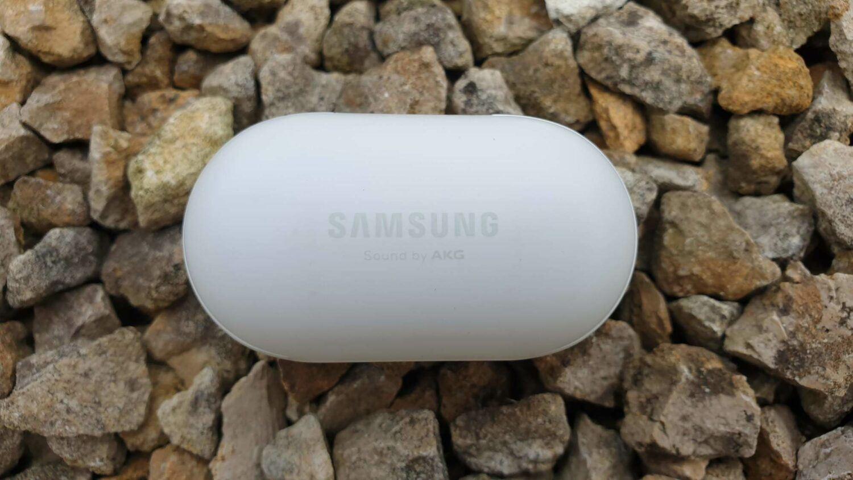 Samsung Galaxy Buds - Le boîtier vue de dessus
