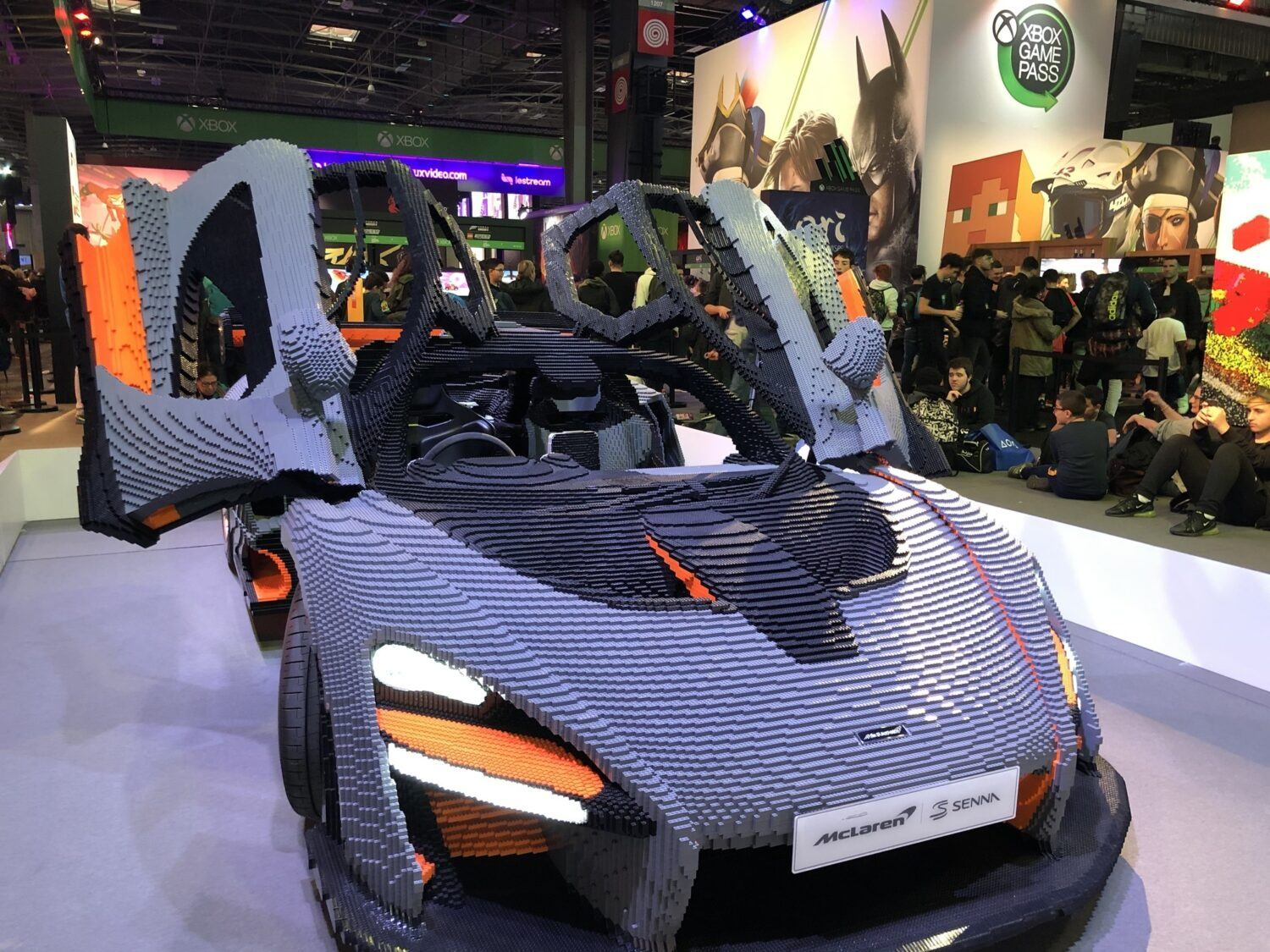 mclaren Lego Paris Games Week