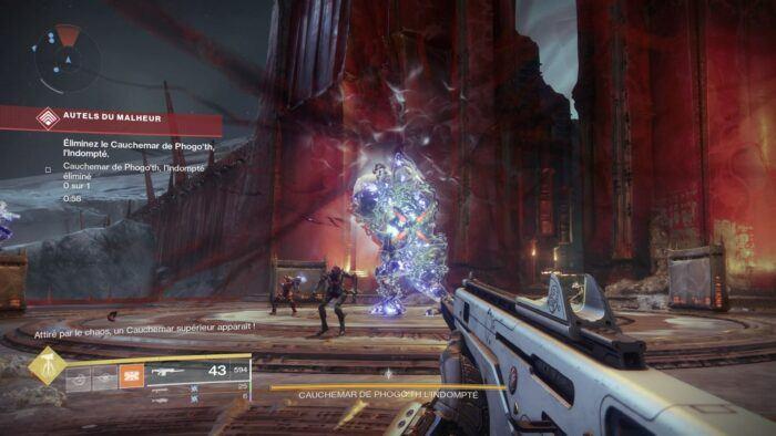 Test - Destiny 2 - Les cauchemars reviennent vous hanter
