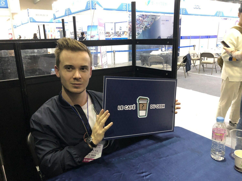 G-Fair startup Coree du Sud Le Café Du Geek Leo Thevenet