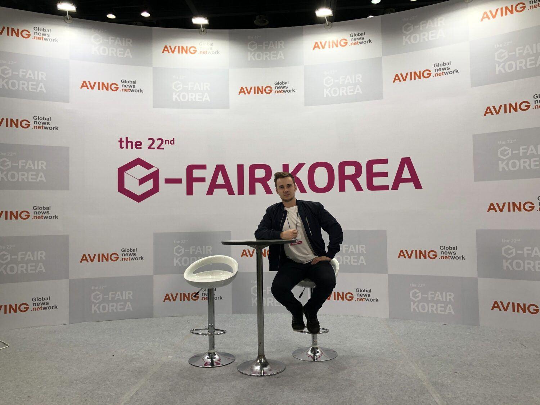 G-Fair startup Coree du Sud Le Café Du Geek Thevenet Leo