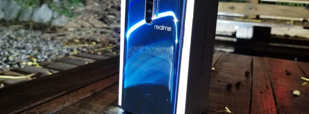 Realme X2 Pro - face arrière