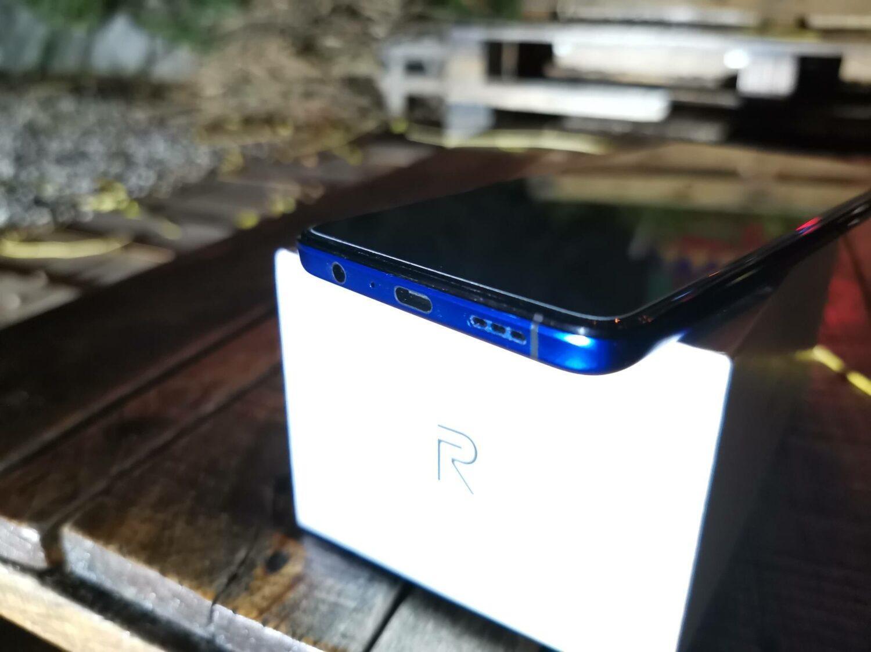 Realme X2 Pro - tranche inférieure