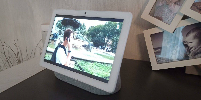 commande vidéo efficace et bonne réactivité du Nest Hub Max.