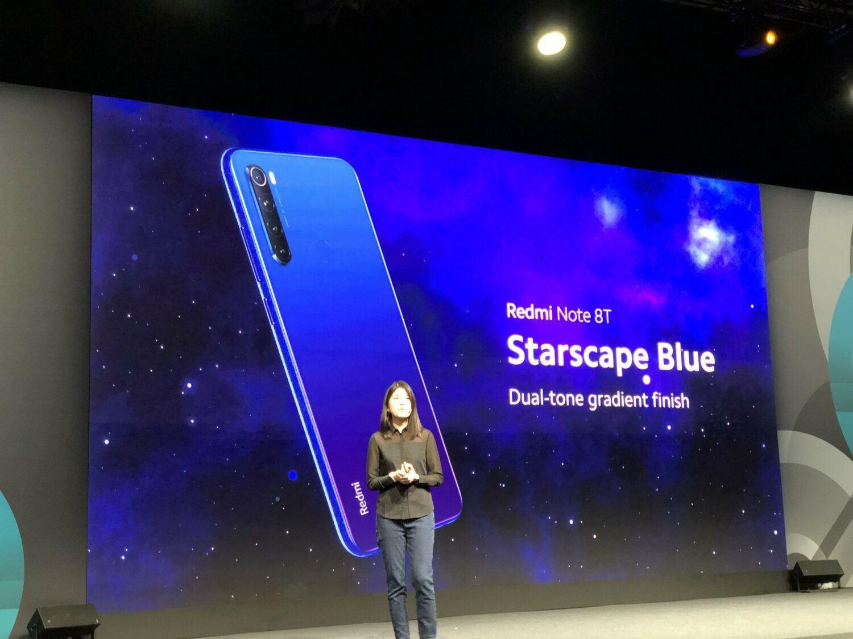 Redmi Note 8T Blue