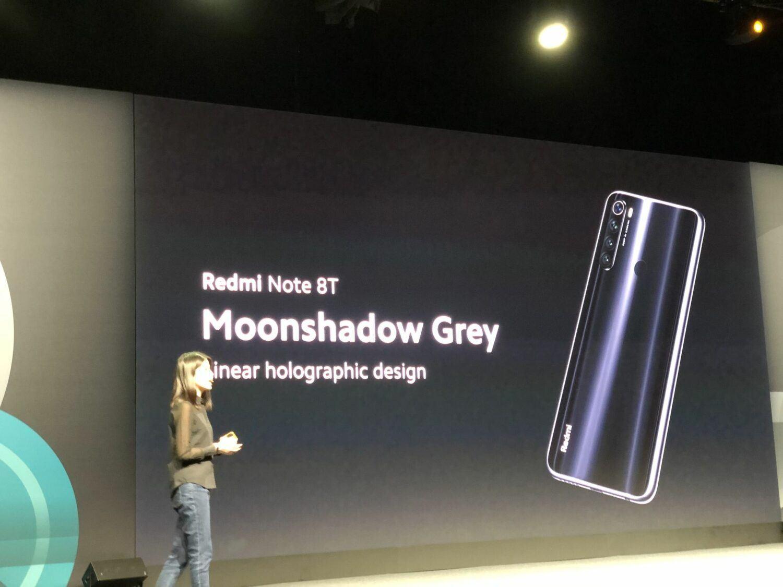 Redmi Note 8T couleurs