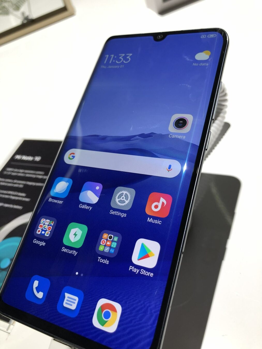 Photo de [Prise en main] Xiaomi Mi Note 10 : Le Smartphone Epic