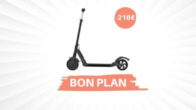 Photo de Black Friday – 216€ de réduction sur la trottinette électrique Kugoo S1