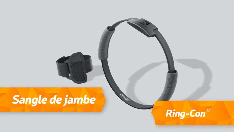 Nintendo Ring-Con + Sangle de jambe