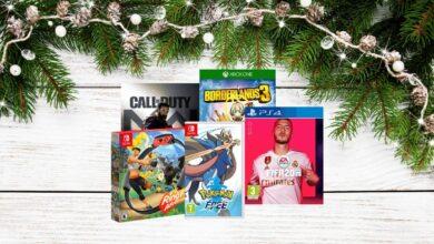 Selection jeux video Noel