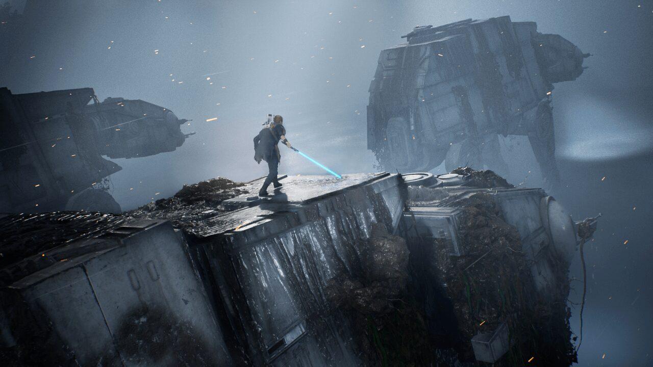 Star Wars Jedi Fallen Order - ATAT