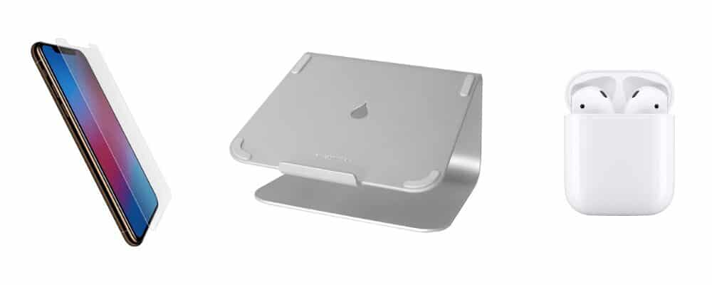 Black Friday - Protection iphone, airpods et stand mac