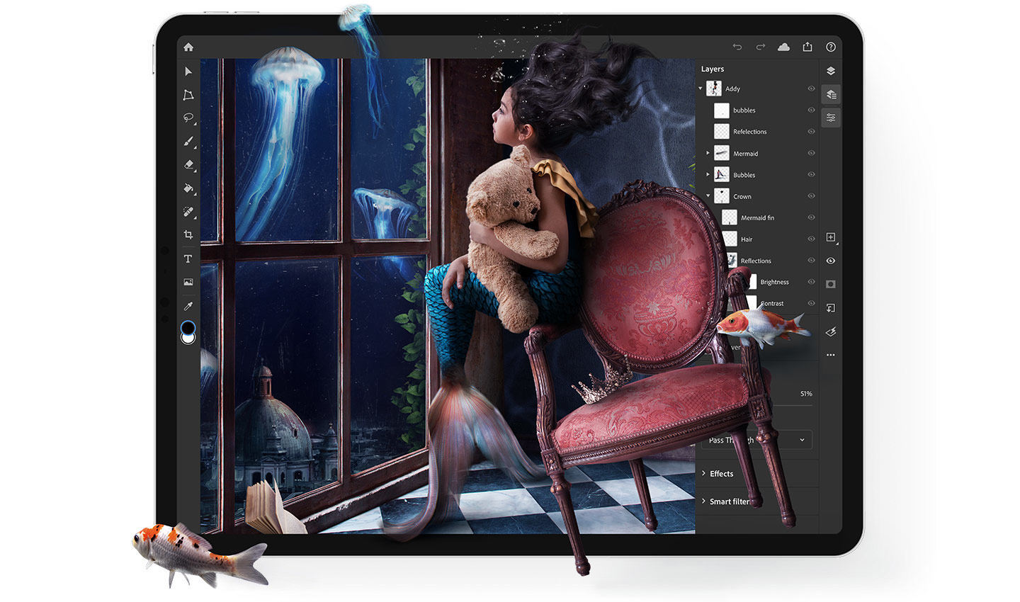 Adobe Photoshop pour iPad