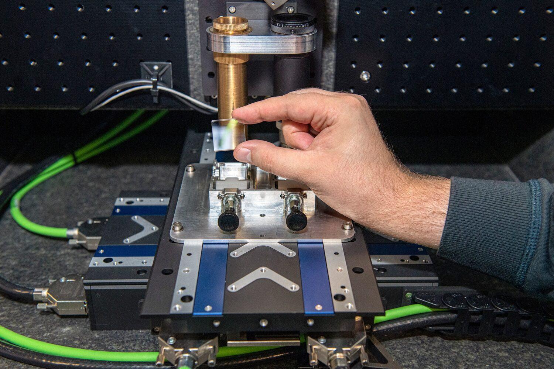 Projet Silica laser