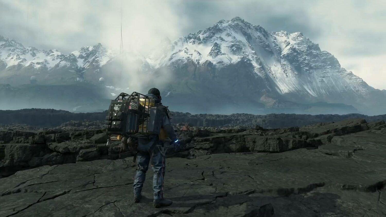 Death Stranding jeux video open-world