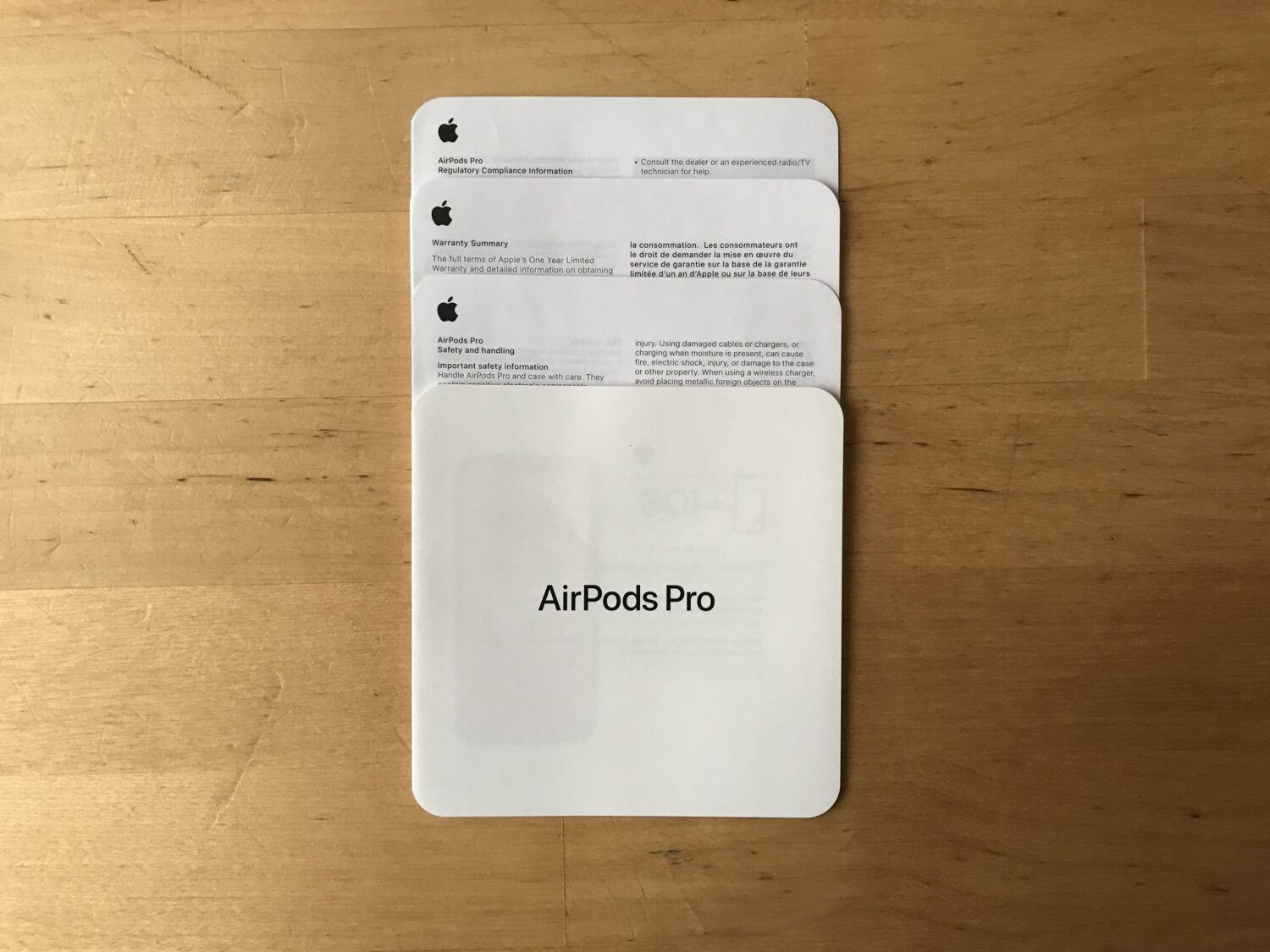 Documentation Airpods Pro