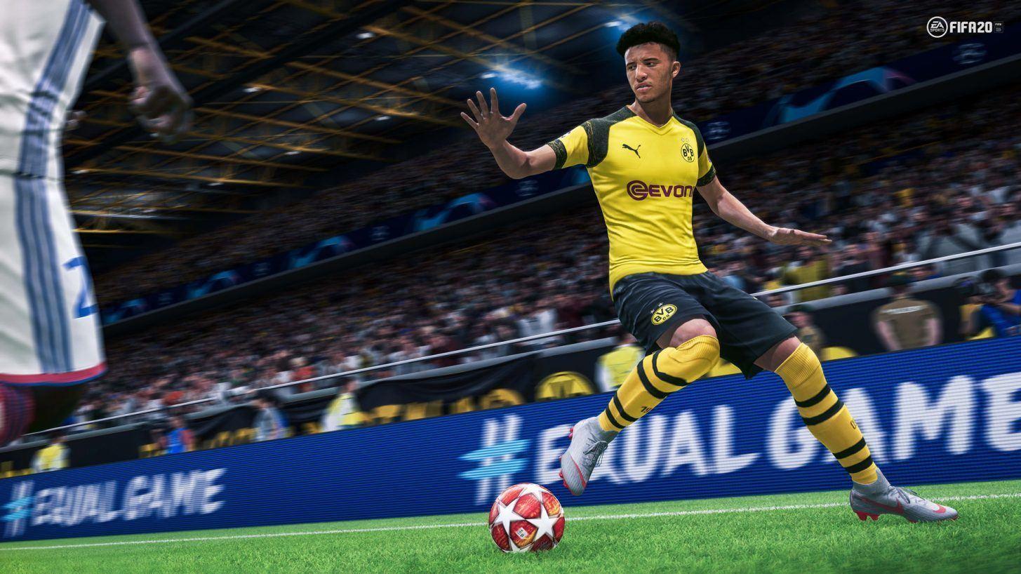 fifa 2020 jeux vidéo sport