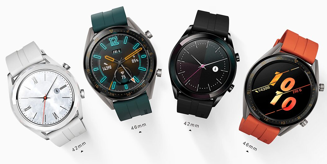 Huawei Watch tailles cadrans