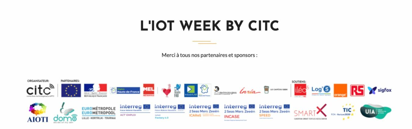 Photo of Le Café Du Geek partenaire de l'IoT WEEK 2019 !