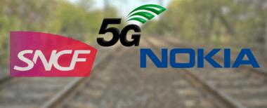 Union de la SNCF et Nokia pour la 5G