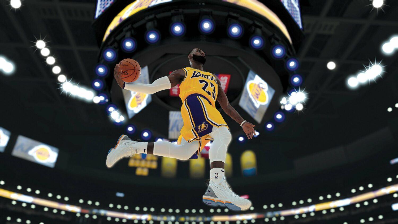 NBA 2K20 aces jeux vidéo sport