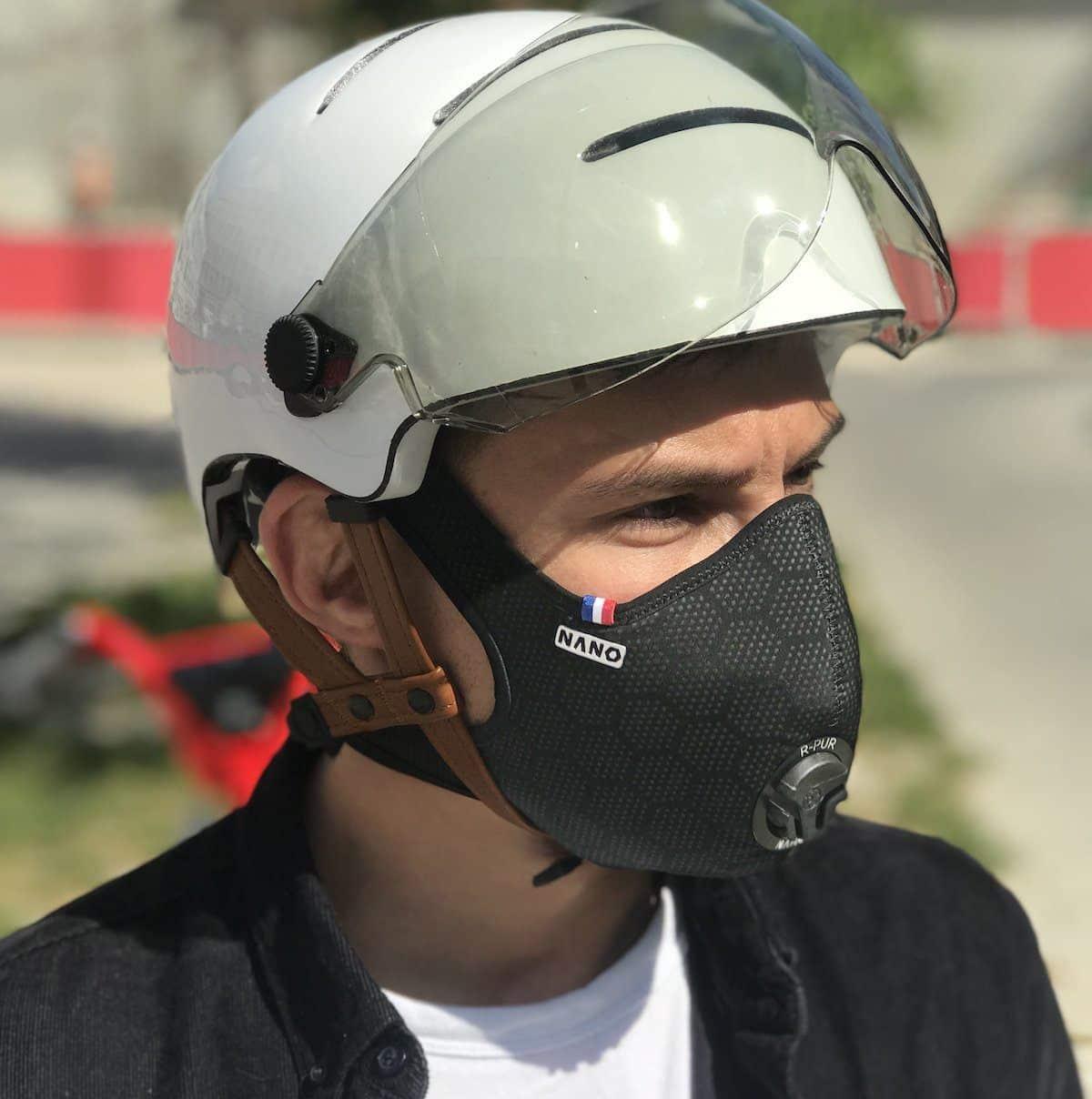 R-Pur : Un masque anti-pollution !