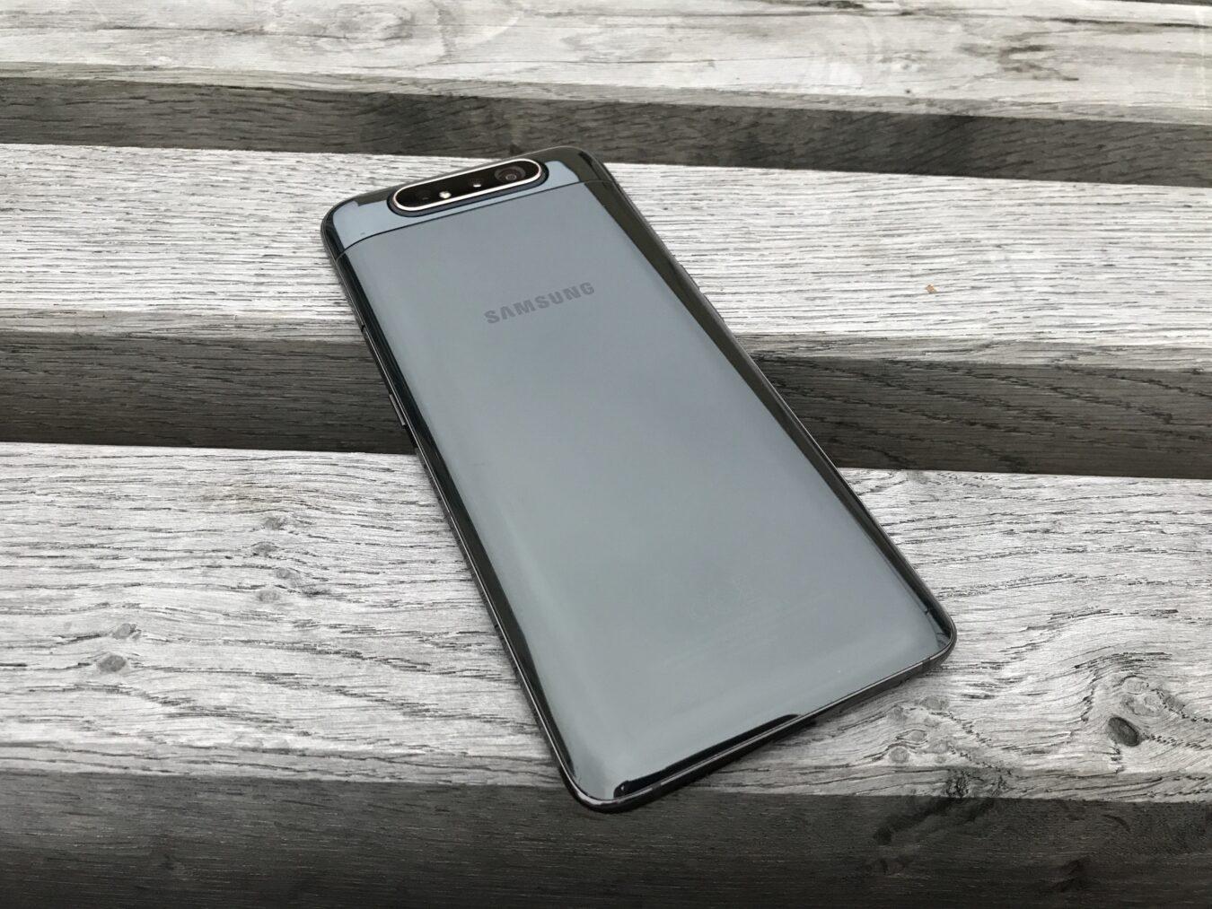 Photo de Test – Samsung Galaxy A80 : un smartphone pivotable dans tous les sens