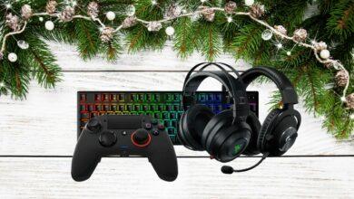 selection accessoires gaming noel 2019