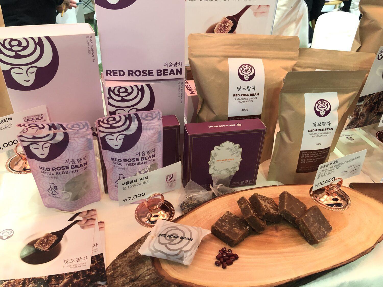 red rose tea food week Coex 2019