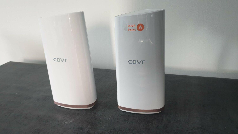 Les deux Dlink COVR-2200