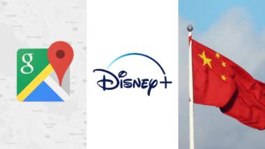 google maps chine windows disney+ canal+