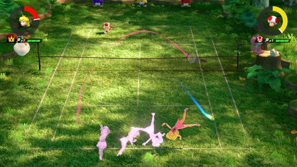 mario tennis aces jeux vidéo sport