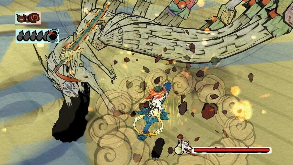 okami 1 jeux vidéo japonais poésie