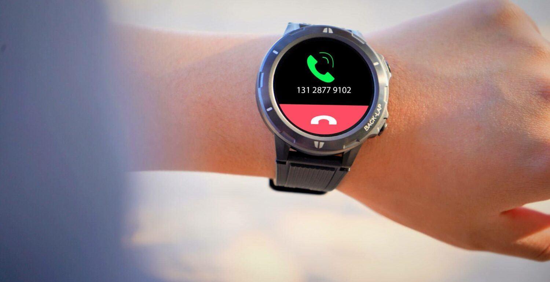 Il est possible de prendre ou rejeter un appel directement sur l'écran.