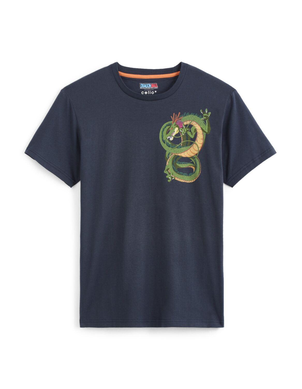 tshirt shenron dragon ball Z celio
