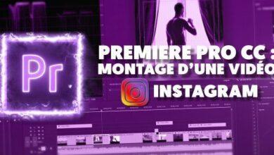 Photo de TUTO – Réaliser le montage d'une vidéo Instagram sur Premiere Pro