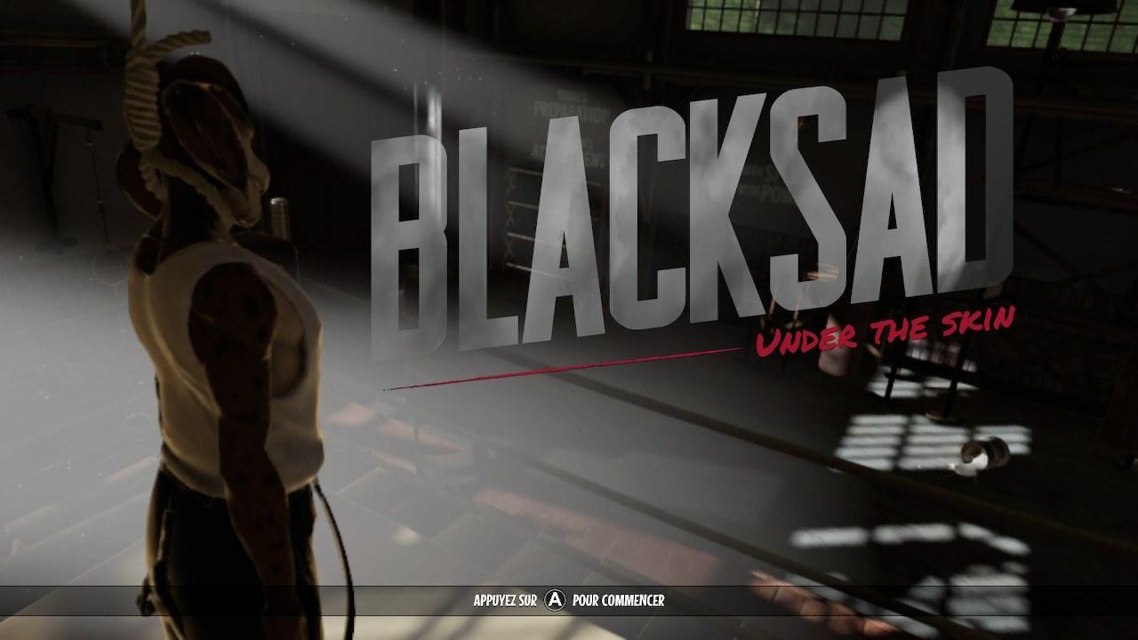 Dərinin başlığı ekranı altında Blacksad